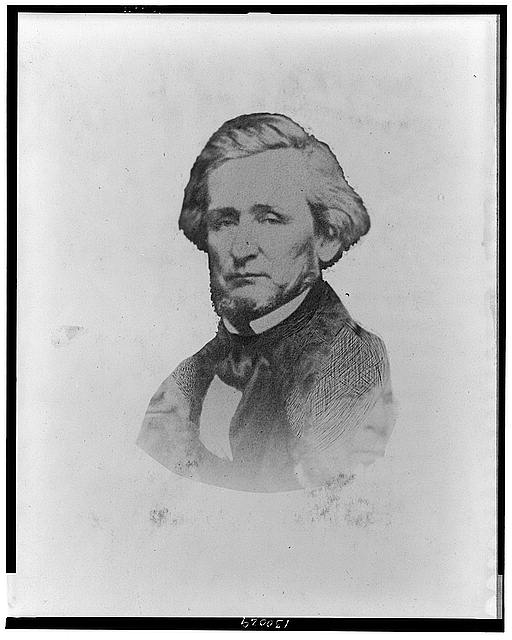 [John B. Thompson, bust portrait, facing slightly left]