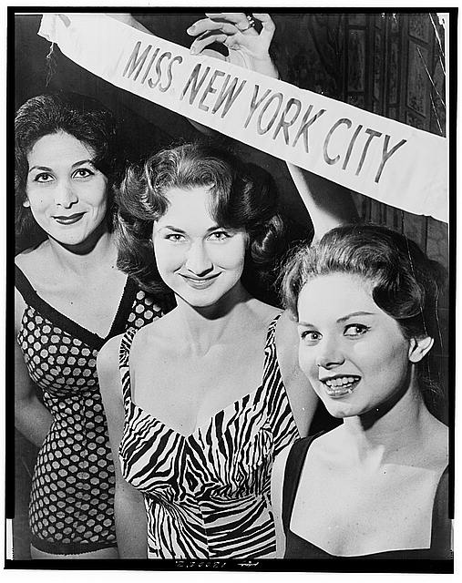 Grace Downs Airline Hostess School 447 15 Ave., Miss NYC Contest