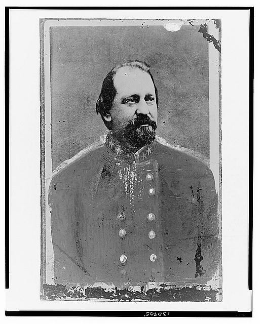 [General A.J. Vaughn, of Texas, C.S.A., in uniform, half-length portrait, facing right]