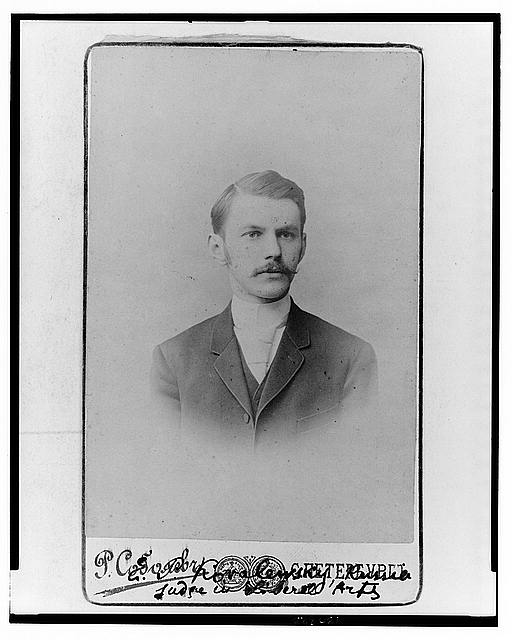 [Evgraff P. Kovalewsky, head-and-shoulders portrait, facing front]