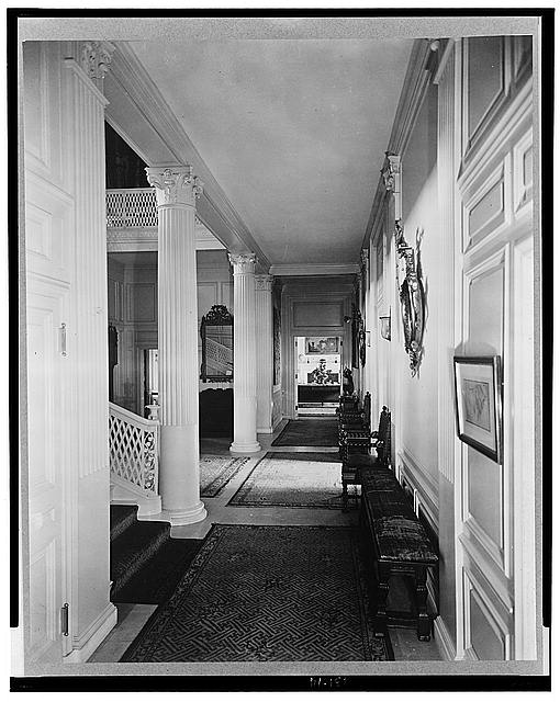 "[""The Causeway,"" James Parmelee house, 3100 Macomb Street, Washington, D.C. Interior]"