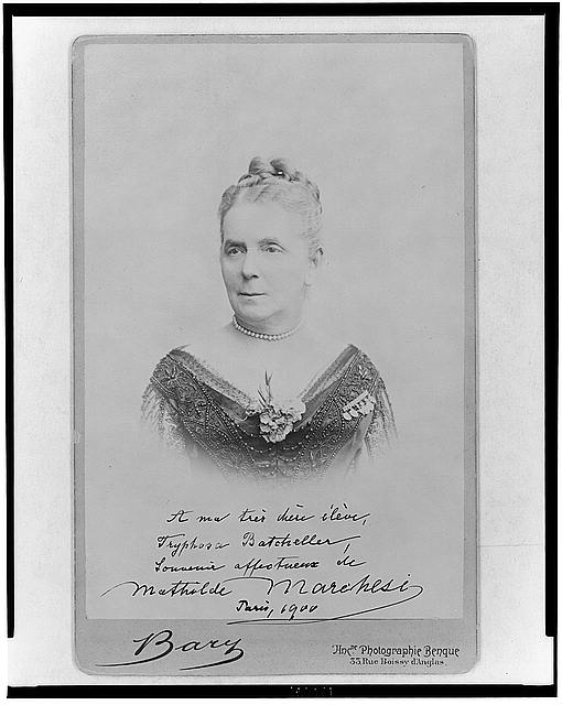 [Mathilde Marchesi, head-and-shoulders portrait, facing slightly left]