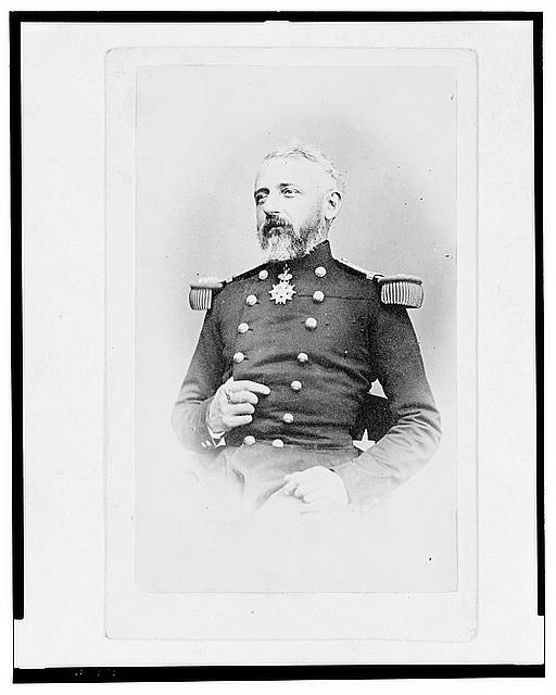 [General Félix Charles Douay, half-length portrait, facing front]