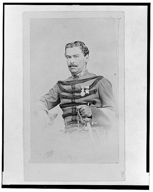 [Abraham de la Peña, half-length portrait, facing front]