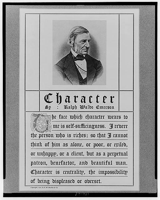 Character by Ralph Waldo Emerson