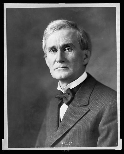 [Senator Lawrence Y. Sherman, head-and-shoulders portrait, facing front]