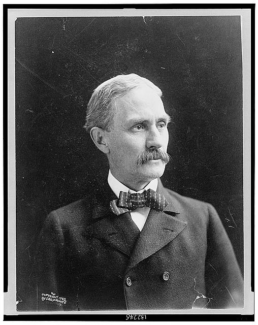 [Clarence Clark, head-and-shoulders portrait, facing right]