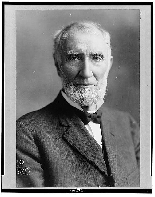 [Joseph G. Cannon, head-and-shoulders portrait, facing front]