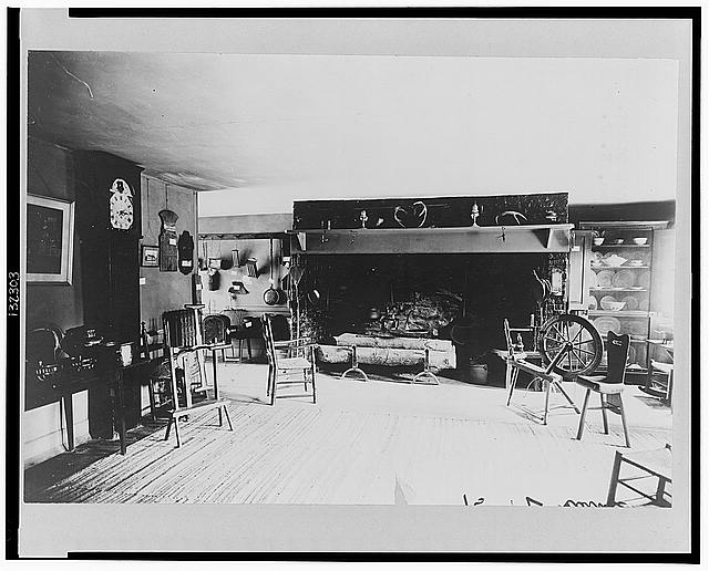 Kitchen of Washington's headquarters, Morristown, New Jersey
