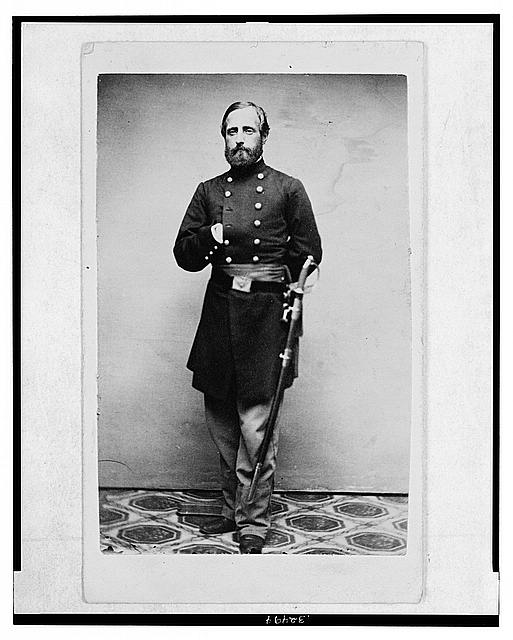 [Major Sidney Coolidge, U.S.A., in uniform, full-length portrait, facing front]