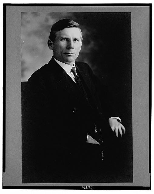 [Seaborn Anderson Roddenbery, half-length portrait, seated, facing front]