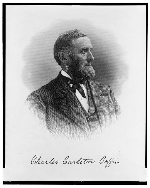 [Charles Carleton Coffin, head-and-shoulders portrait, facing right]