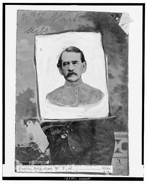 [William T. Martin, of Miss., Brigadier General, C.S.A., head-and-shoulders portrait, facing front]