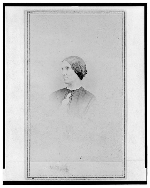 [Mrs. Thomas Taylor, head-and-shoulders portrait, facing left]
