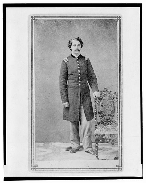 [Arthur Linn, U.S.A., in uniform, full-length portrait, facing front]