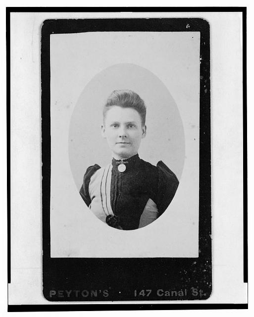 [Ella Whitney Gould, head-and-shoulders portrait, facing front]