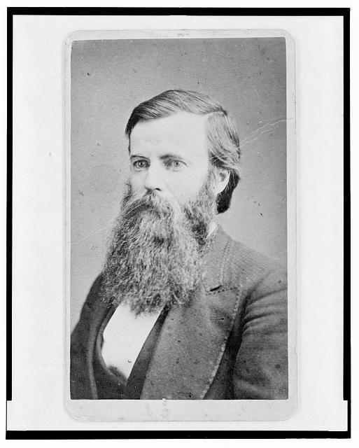 [U.T. Curran, Ohio educator, head-and-shoulders portrait, facing left]