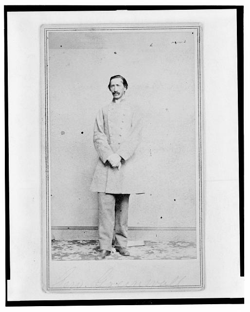 [A.(?) Greenwall, Confederate Army officer, full-length portrait, facing front]