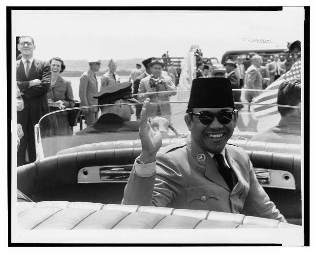 [Dr. Sukarno, president of Indonesia, during his trip to Washington, D.C.]