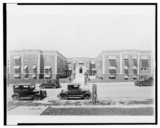 [Apartment building, 8th & Jefferson Street, N.W., Washington, D.C.]