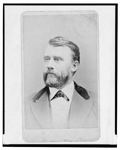[Steven F. Chadwick, govenor of Oregon, head-and-shoulders portrait, facing left]
