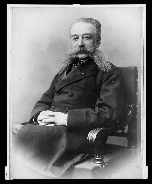 [Ivan Longinovich Goremykin, three-quarter length portrait, seated, facing left]