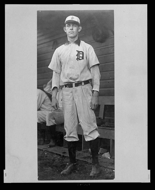 [Herman Malloy, Detroit Baseball Club player, full-length portrait, in uniform, facing front]