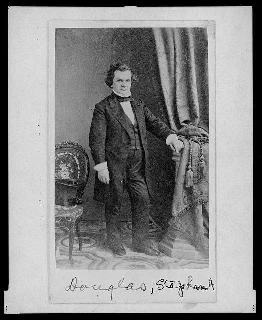[Stephen A. Douglas, full-length portrait, facing front]