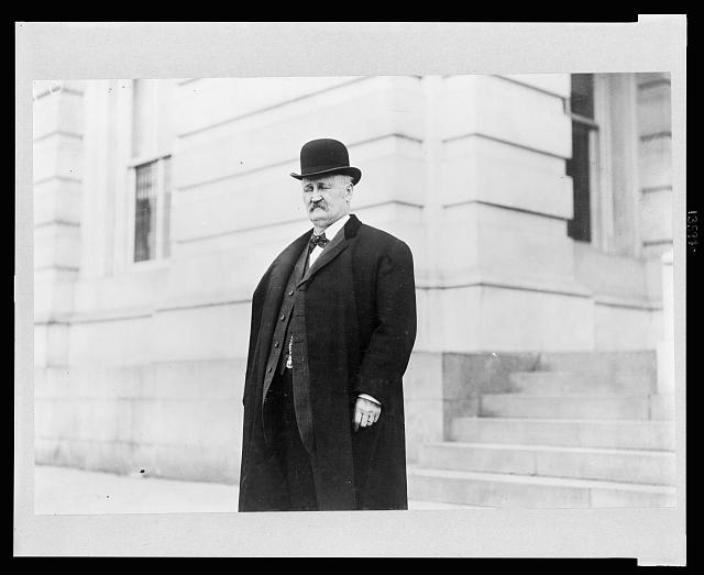 [Rep. William Russell Ellis, Republican from Oregon, three-quarter length portrait, standing, facing left]