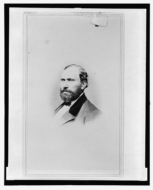 [Allan Pinkerton, head-and-shoulders portrait, facing left]