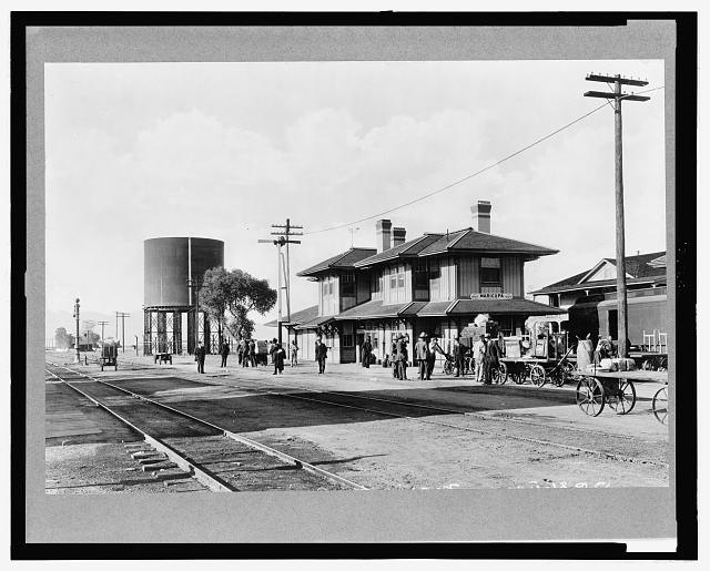 Arizona, Maricopa. Southern Pacific Railroad station