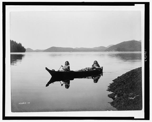 Canoeing on Clayquot Sound