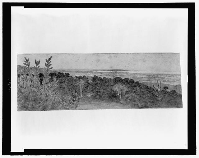 [View from hill]