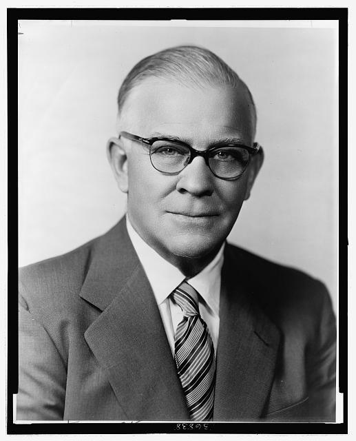 [Arthur L. Miller, Republican representative from Nebraska, head-and-shoulders portrait]