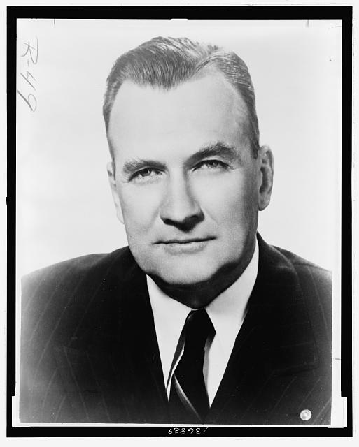 [George W. Malone, Republican senator from Nevada, head-and-shoulders portrait]