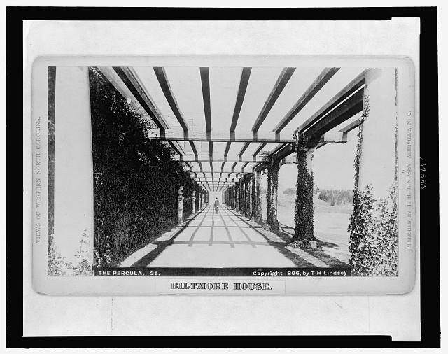 Biltmore House, the pergola