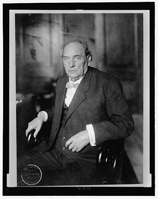 [John H. Bankhead, Senator from Alabama, three-quarter length portrait, seated]