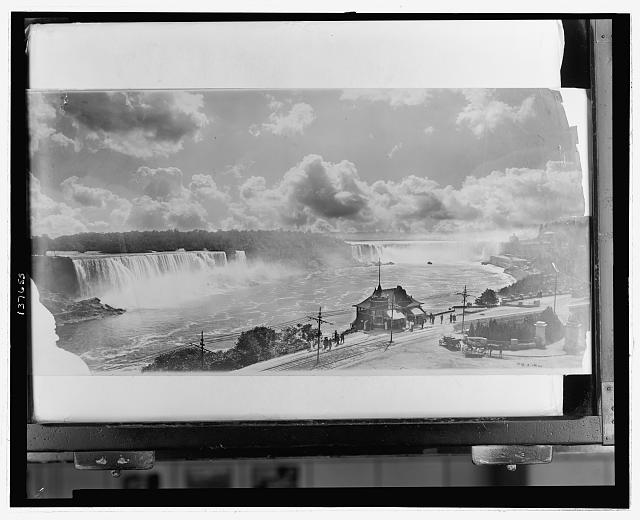 [General view of Niagara Falls from top of Clifton House]