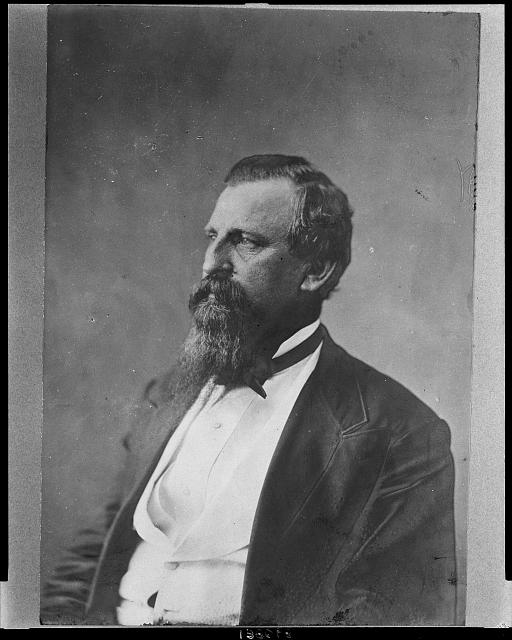 [William B. Anderson, Independent Congressman from Illinois, head-and-shoulders portrait, facing left]