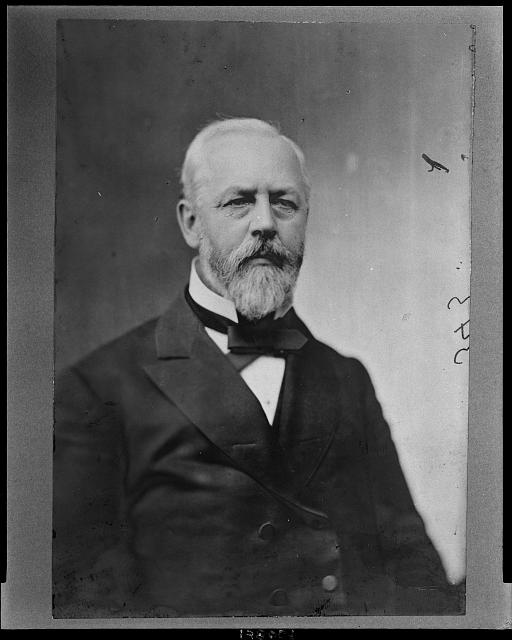 [William Aldrich, Republican Congressman from Ilinois, head-and-shoulders portrait, facing front]