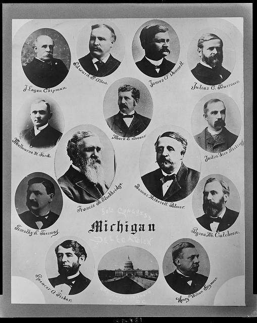 50th Congress Michigan delegates