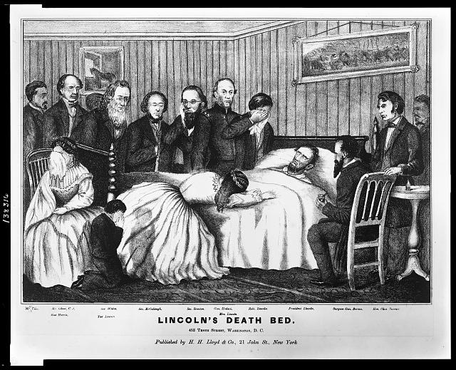 Lincoln's death bed : 453 Tenth Street, Washington, D.C.