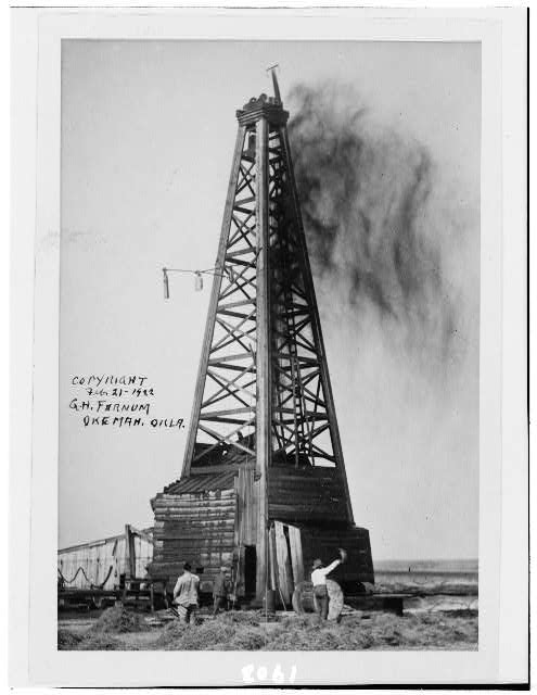 [An oil well, Oklahoma]