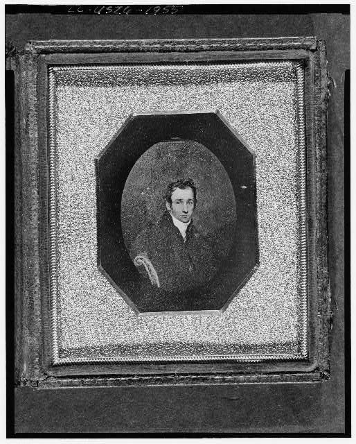 [Unidentified copy of a painting showing a man, head-and-shoulders portrait, full face]