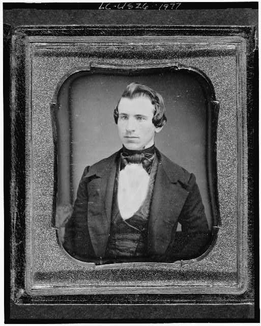 [Unidentified man, friend of Clara Barton, head-and-shoulders portrait, full face]