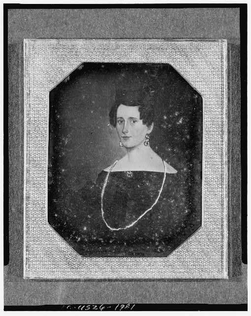 [Copy of a painting of an unidentified woman, head-and-shoulders portrait, facing front]