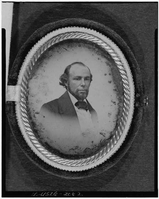 [Henry Rodgers, head-and-shoulders portrait, facing right]