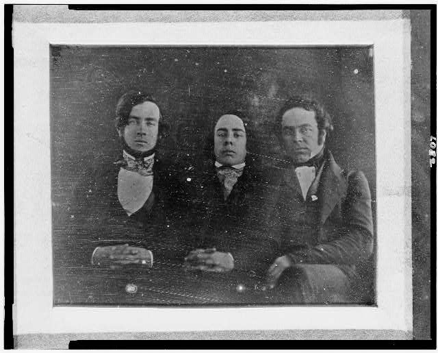 [Henry, George and Stephen Childs, half-length portrait, facing front]