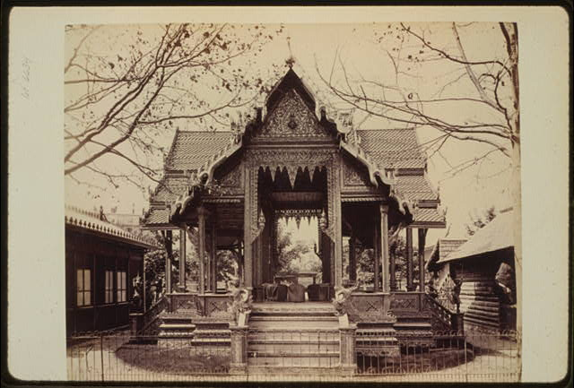 [Pavilion of Siam, Paris Exposition, 1889]