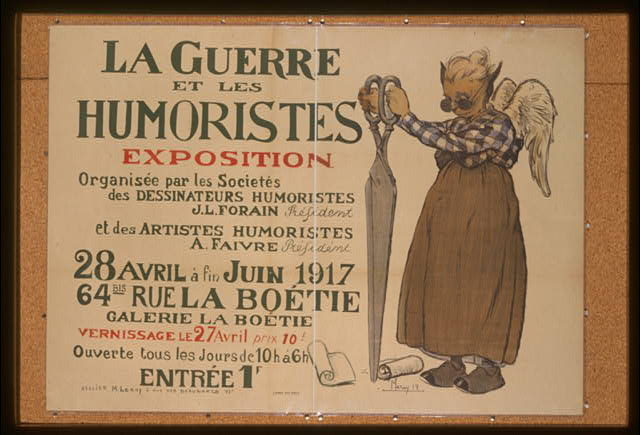 La guerre et les humoristes. Exposition . . .
